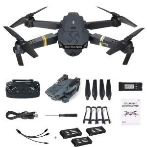 Drone X Pro Extra Batteries HD Camera Live Video WiFi FPV Voice Command